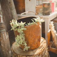 Vintage planters (Spring Inspiration)