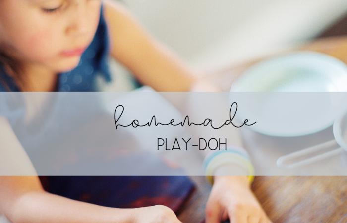 Homemade Play-Doh Recipe