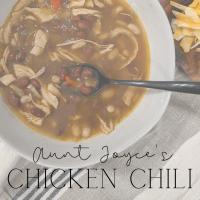 Joyce's Chicken Chili